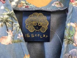 スカラー ScoLar ワンピース サイズM レディース 美品 ライトブルー×マルチ【中古】