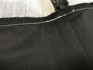 トゥービーシック TO BE CHIC スカート サイズ42 L レディース 美品 黒×シルバー デニム/スパンコール【中古】