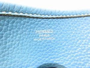 エルメス HERMES ショルダーバッグ レディース エブリンドゥPM ブルージーン シルバー金具 トゴ【中古】