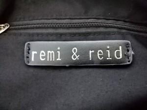 レミー&リード remi&reid トートバッグ レディース グレーベージュ レザー【中古】