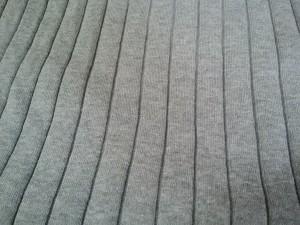 ミラオーウェン Mila Owen 半袖セーター サイズF レディース 美品 グレー【中古】