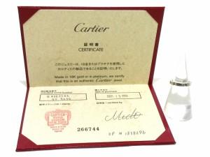 カルティエ Cartier リング 46 レディース 美品 マイヨンパンテール K18WG【中古】