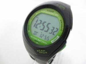 カシオ CASIO 腕時計 PHYS STR-300 メンズ ラバーベルト ライトグリーン【中古】