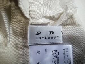 プライド PRIDE コート サイズ38 M レディース 新品同様 ライトグレー 春・秋物【中古】