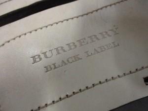 バーバリーブラックレーベル Burberry Black Label サンダル 2 メンズ アイボリー×黒×ボルドー 化学繊維×マルチ【中古】