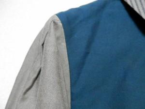 ハート HaaT HeaRT 長袖シャツブラウス サイズ2 M レディース ダークグリーン×ベージュ×ネイビー ストライプ【中古】