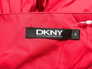 ダナキャラン DKNY ワンピース サイズ4 XL レディース 美品 レッド【中古】