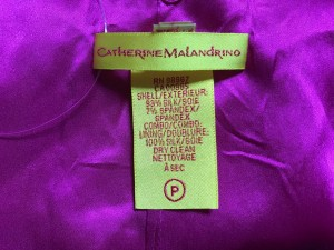 キャサリンマランドリーノ CATHERINE MALANDRINO ワンピース サイズ6 M レディース 美品 ピンク フリル【中古】