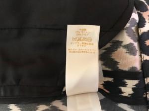 ケイトスペード Kate spade ミニスカート サイズ4.A レディース 美品 ベージュ×黒×ライトブラウン 豹柄【中古】