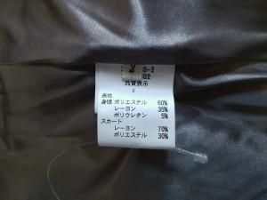 レストローズ L'EST ROSE ワンピース サイズ2 M レディース 美品 黒×ライトブラウン×ピンク×マルチ ラメ/フリル【中古】