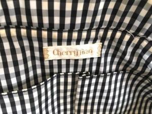 チェリーアン CHERRY ANN ハンドバッグ レディース 黒 キルティング ナイロン×レザー【中古】