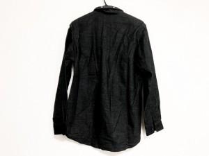 トゥモローランド TOMORROWLAND 長袖シャツ サイズS メンズ 美品 黒×ライトグレー【中古】