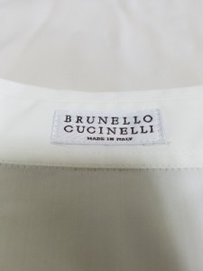 ブルネロクチネリ BRUNELLO CUCINELLI 長袖シャツ サイズS レディース 白 ロング丈【中古】