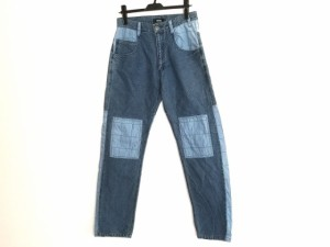ネネット Ne-net パンツ サイズ2 M メンズ ネイビー×ライトブルー【中古】