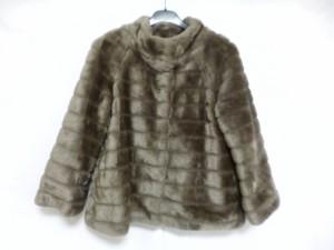 ルクールブラン le.coeur blanc コート サイズ38 M レディース 美品 グレー 冬物【中古】