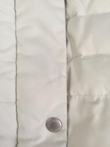 クリアインプレッション CLEAR IMPRESSION ダウンコート サイズ3 L レディース アイボリー 冬物【中古】