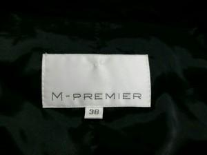 エムプルミエ M-PREMIER ジャケット サイズ38 M レディース 美品 黒【中古】