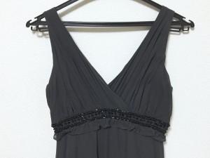 0ba9017c5a665 グレースコンチネンタル GRACE CONTINENTAL ドレス サイズ36 S レディース 美品 黒 シルク ビーズ