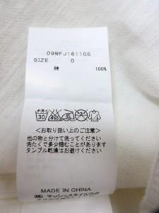 ミラオーウェン Mila Owen Gジャン サイズ0 XS レディース 美品 白 春・秋物【中古】