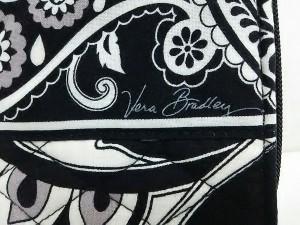 0af44c9fe69b ベラブラッドリー Vera Bradley 財布 レディース 黒×白×グレー ラウンドファスナー/キルティング. 画像1