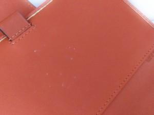 コーチ COACH 手帳 レディース オプアート レッド×ピンク PVC(塩化ビニール)×レザー【中古】