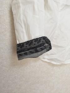 ブラックレーベルポールスミス BLACK LABEL Paul Smith 長袖シャツブラウス サイズ38 M レディース 白 リボン【中古】