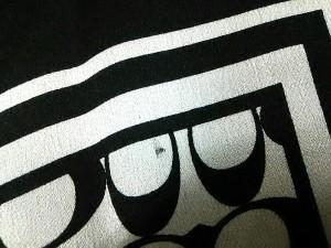 コーチ COACH スカーフ レディース 美品 シグネチャー柄 白×黒【中古】