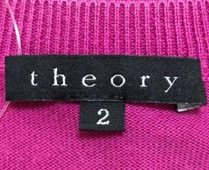 セオリー theory 半袖セーター サイズ2 S レディース パープル【中古】