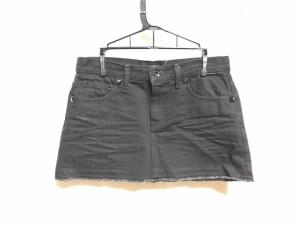 91ea5b643eec ダブルスタンダードクロージング DOUBLE STANDARD CLOTHING ミニスカート サイズ38 M レディース 黒【中古】