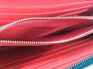 0a8f6280da12 クリスチャンルブタン 長財布 レディース 美品 パネトーネ 黒×レッド ラウンドファスナー/ハート/. 画像1