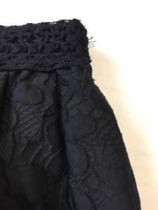 63a735a37a8dd トゥービーシック TO BE CHIC バルーンスカート サイズ40 M レディース 美品 黒 レース . 画像1
