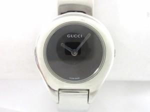 91f98421f888 グッチ GUCCI 腕時計 美品 6700L レディース 黒【中古】