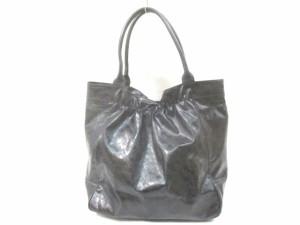 069839b59b31 ゲラルディーニ GHERARDINI トートバッグ レディース 黒 PVC(塩化ビニール)【中古】