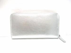 df8458d27143 シャネル CHANEL 長財布 レディース 美品 - シルバー×黒 ラウンドファスナー/ココマーク. 画像1