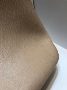 9ec5c6f4062c ロンシャン LONGCHAMP トートバッグ レディース ロゾ ベージュ×レッド リバーシブル レザー【中古】. 画像1