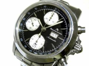 2c8daf11be モーリスラクロア MauriceLacroix 腕時計 7182 メンズ 黒【中古】