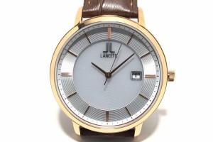8c375352cb ランチェッティ LANCETTI 腕時計 LT-6837 メンズ シルバー【中古】