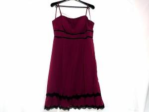 08828083255ae エメ aimer ドレス サイズ9 M レディース ボルドー 中古