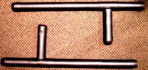 ラバー製トンファー(2本セット)
