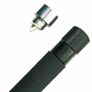 3段伸縮警棒用LEDライト付きキャップ