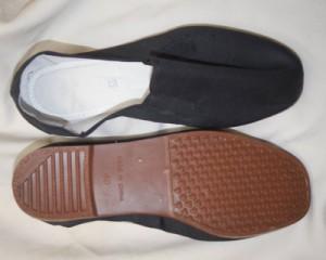 【送料120円メール便OK!】カンフーシューズ(プラスチック茶底・布靴)