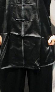 太極拳スーツ(太極拳表演服) 黒色