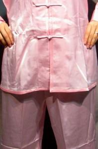 太極拳スーツ(太極拳表演服) ピンク色