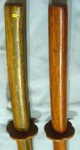 赤樫製木刀(ロング、鍔付き)