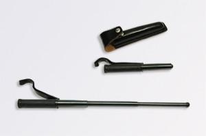 【送料が安い!】日本製三段警棒 本革ケース付(2種) MR-1,2