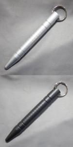 【送料120円メール便OK!】護身用具・クボタン(尖り有り・2色)