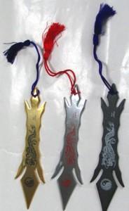 忍者武具 棒手裏剣B型3個セット(くない、苦無)スローイングタイプ鉄製
