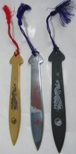 忍者武具 棒手裏剣C型(くない、苦無)スローイングタイプ鉄製