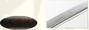 【島津斉彬拵】美術日本刀(模造刀) +紫の刀剣袋(裏地付) 付属