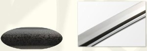 【近藤勇拵】美術日本刀(模造刀) +紫の刀剣袋(裏地付) 付属